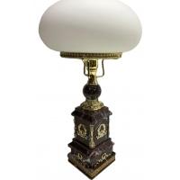 Настольная лампа из яшмы Шедевр