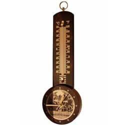 Термометры, гигрометры и метеостанции