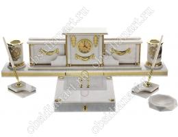 Офисный органайзер с часами для руководителя «Римини»
