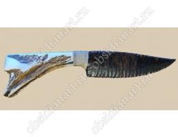 Нож из вулканического стекла и оленьего рога «Игра Престолов-1», 35 см