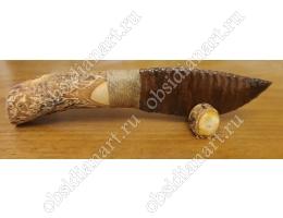 Нож из драконьего стекла (обсидиана)