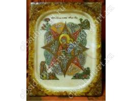 Неопалимая Купина, оникс, янтарь