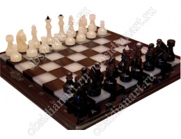 Шахматы «H8 оникс» маленькие