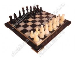 Шахматы «H8 оникс» средние