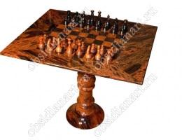 Шахматный стол из обсидиана «Столешница»