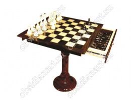 Шахматы из обсидиана «Чемпион»