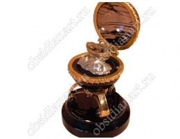 Статуэтка «Ноев ковчег» из бронзы и полудрагоценного камня обсидиан
