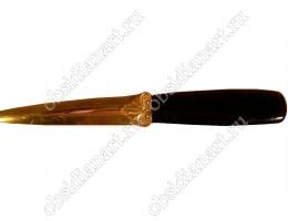 Нож «Атаман» из обсидиана