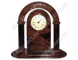 Часы «Арка» из обсидиана (натуральный камень)