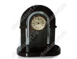 Часы «Арка» черные