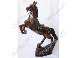 Статуэтка «Конь» из обсидиана
