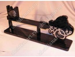 Сувенир «Ключ» из натурального обсидиана