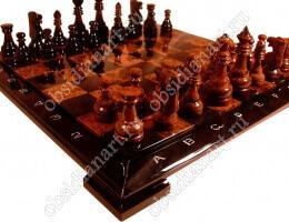 Шахматы из натурального камня «Гроссмейстерские средние»