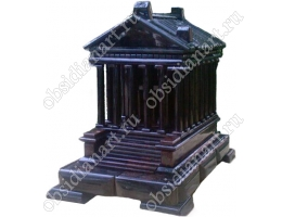 Храм Гарни, макет их гранита и обсидиана