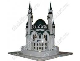 Макет мечети Кул Шариф из натуральных камней
