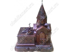 Монастырь Гегард, макет из обсидиана и гранита