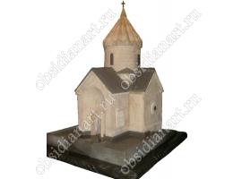 """Церковь """"Сурб Мариам Аствацацин"""", макет из натуральных камней"""