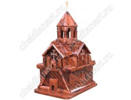 Церковь Сурб Аствацацин (монастырский комплекс Нораванк), макет из обсидиана