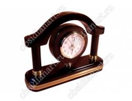 Часы «Новая Арка» большие с деталями из латуни