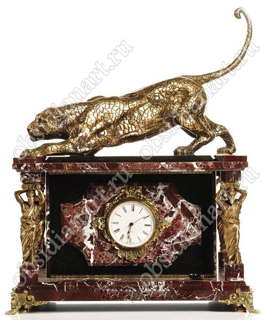 Эксклюзив! Секретный сейф «Ягуар» с часами и большим бронзовым ягуаром
