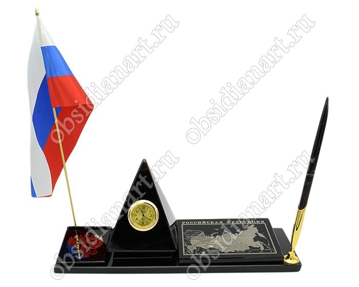 «Карта РФ 3» оригинальный офисный настольный набор