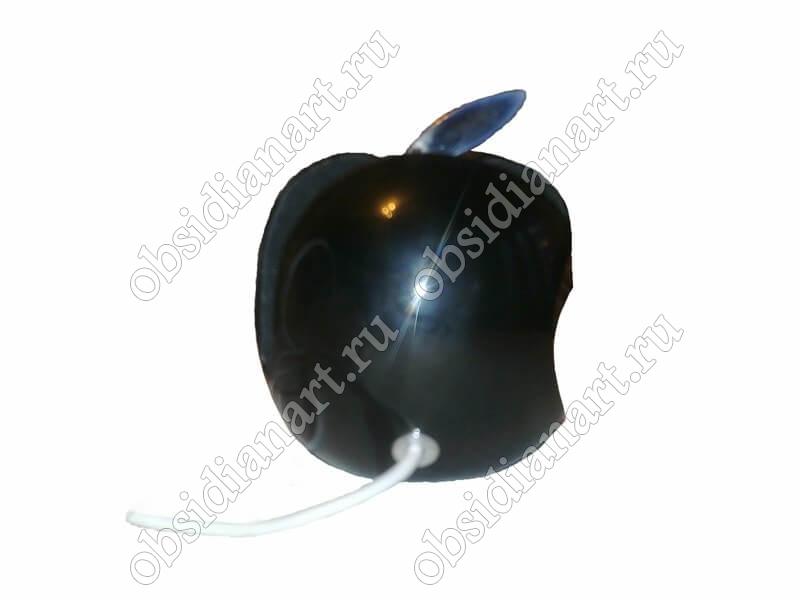 Зарядное устройство/подставка для айпад/айфон (ipad / iphone) из натурального камня в форме яблока
