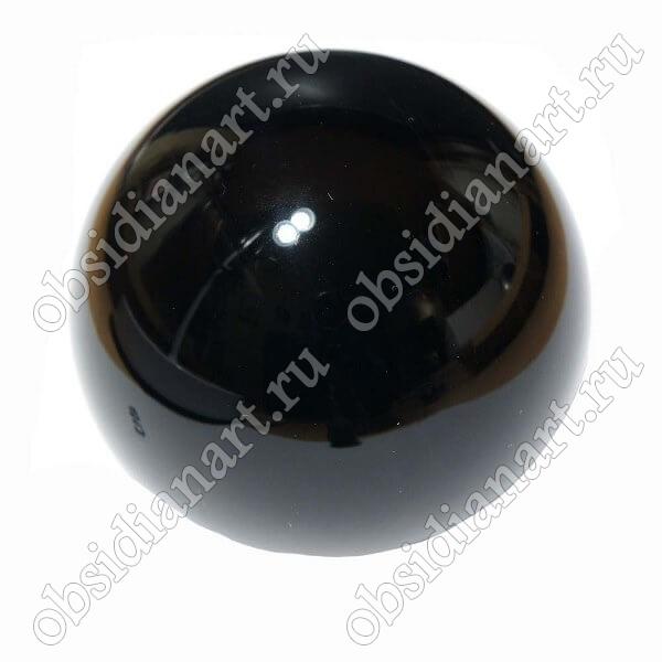 Шар для магии из обсидиана, диаметр 10см