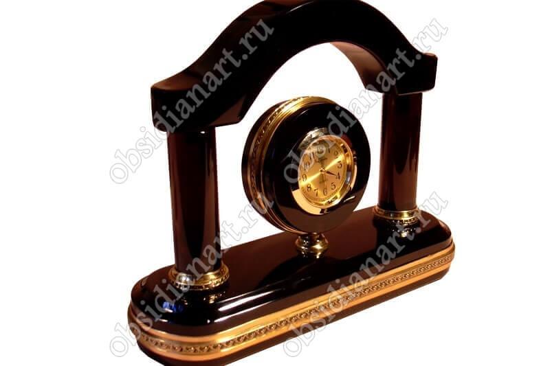 Часы «Новая Арка» маленькие с деталями из латуни