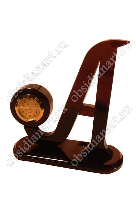 Часы «Буква А»