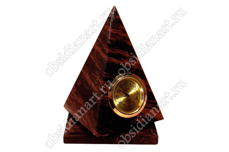 Часы «Пирамида» крутящиеся