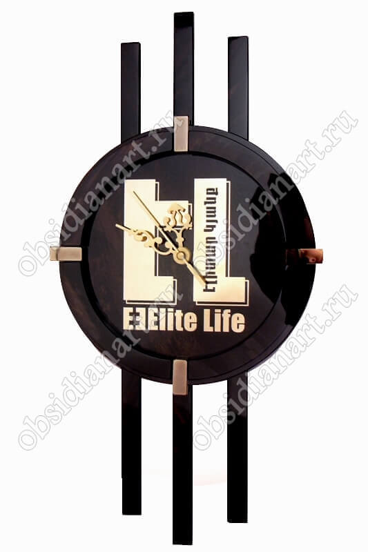 Часы настенные «Элитные» с вашим логотипом