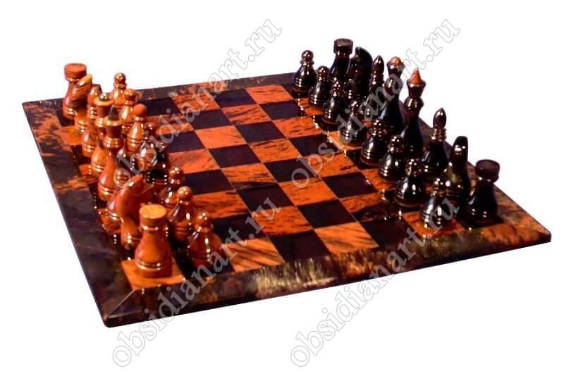 Шахматы из камня «H8» маленькие
