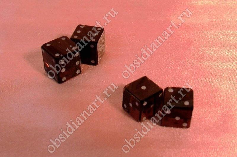 Кубики (зары) из обсидиана (камня) для нард