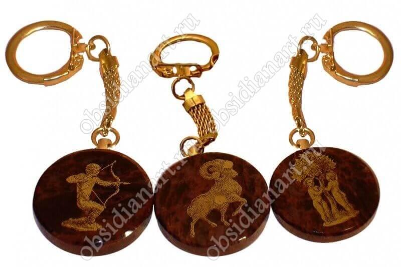 Брелоки (брелки) знаки зодиака арт.2007