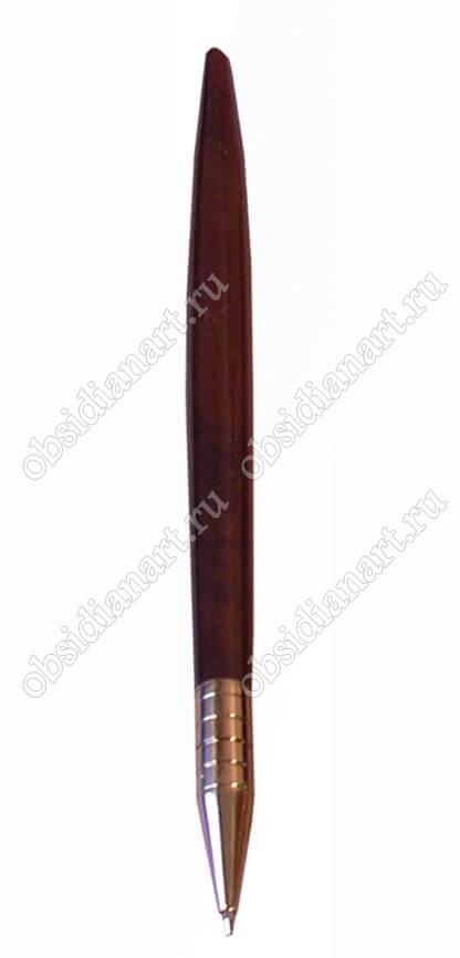 Ручка из обсидиана «Традиционная» к набору