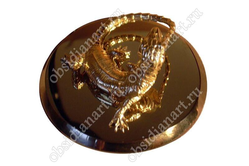 Статуэтка из бронзы «Ящерица»