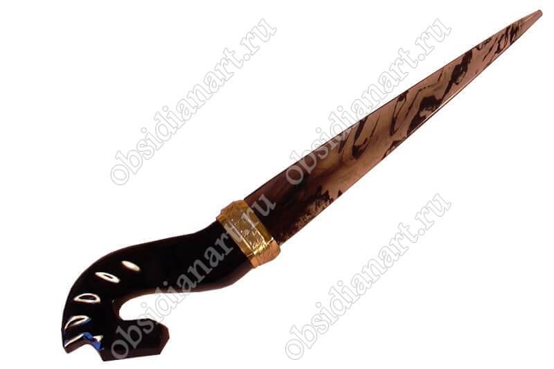 Оригинальный нож из камня «Конь»