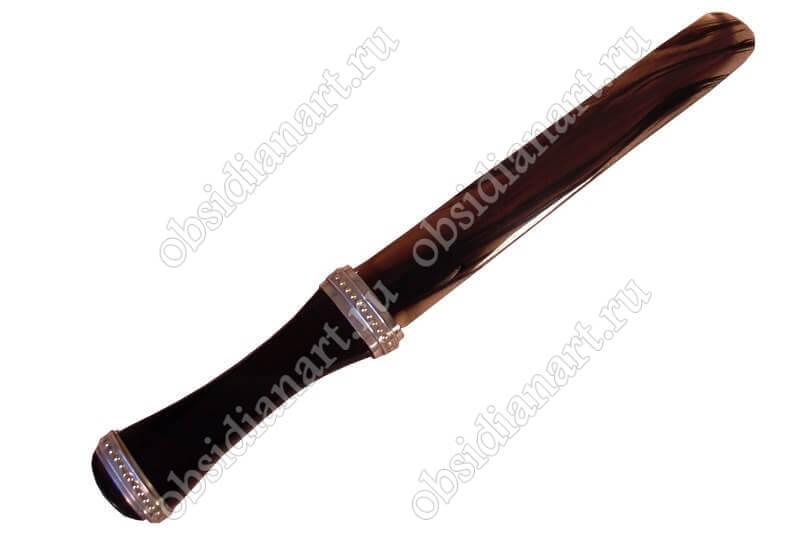 Нож «Конверт» из натурального камня обсидиан