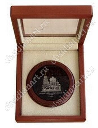 Сувенирная медаль 2( камень)