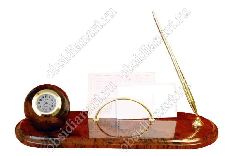 Письменный набор для офиса «Шар» средний