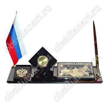 «Карта РФ 2» Офисный набор с государственной символикой