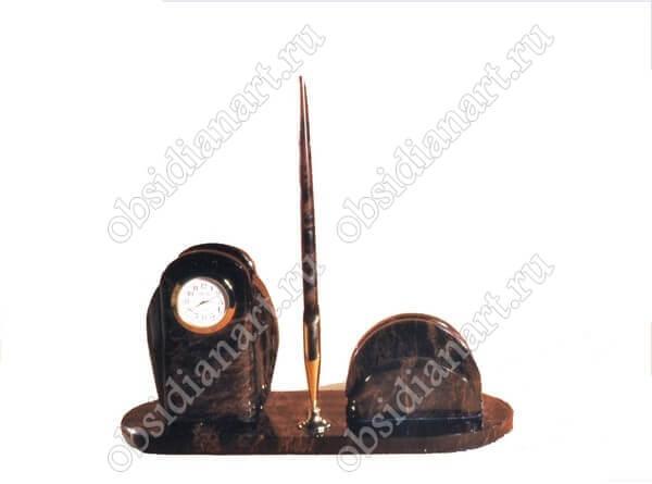 Настольный прибор из камня «Секретарь А 03»