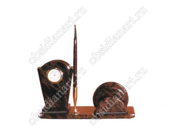 Письменный набор из камня «Секретарь А 04»