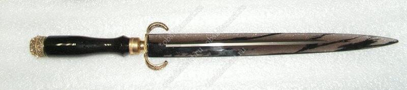 Нож из вулканического стекла «Султан»