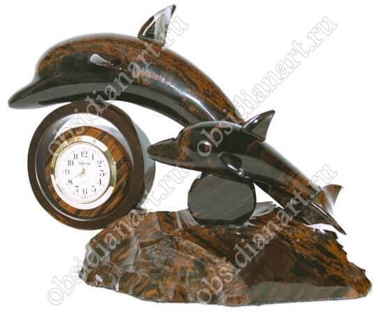 Часы «Дельфины 2»