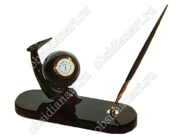 Часы «Дельфин с ручкой»