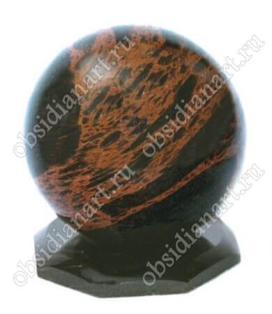 Сувенир «Шар» из вулканического стекла