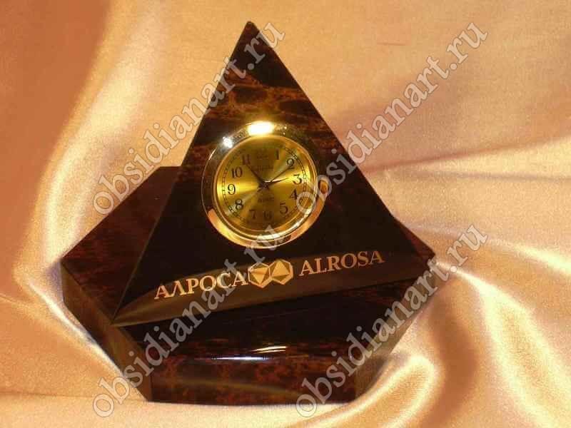 Часы Пирамида с вашим логотипом