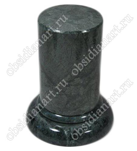 Подставки из обсидиана, мрамора, яшмы, малахита и других камней любой формы и размера