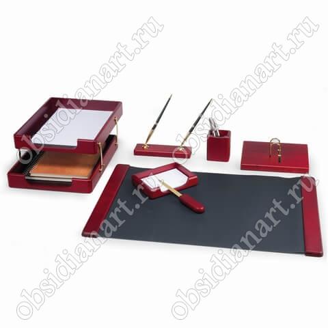 Канцелярский набор для руководителя из красного дерева, арт. 1236393